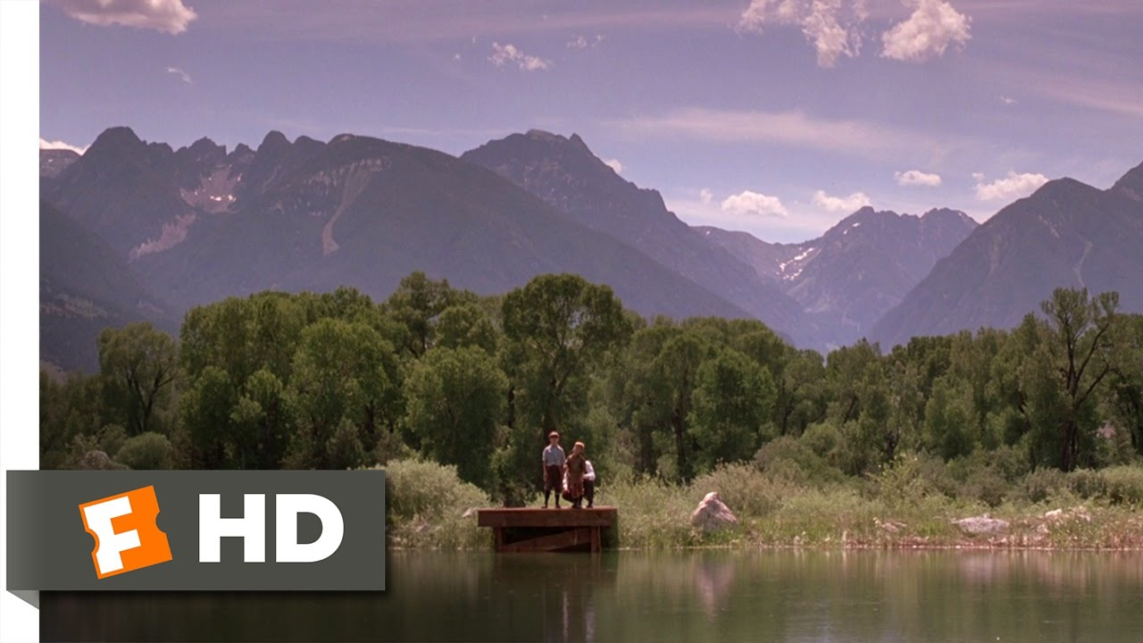 a river runs through it 1 8 movie clip learning to fish and a river runs through it 1 8 movie clip learning to fish and write 1992 hd