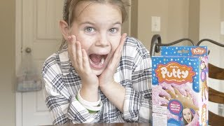 MAKING SLIME WITH SUNSHINE | FLUFFY PUTTY SLIME FROM WALMART