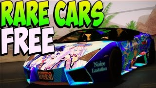 GTA 5 Online - RARE CARS FREE Location After Patch 1.20 - Secret Rare Vehicles (GTA 5 Cars Guide)