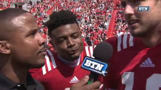 Tanner Lee on His Spring Game Performance 4/15/17