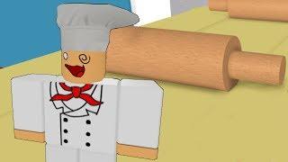 ПОБЕГ от самой СМЕШНОЙ КУХНИ в ROBLOX / КИД БАНАН -  веселые приключения мульт героя на кухне #КИД