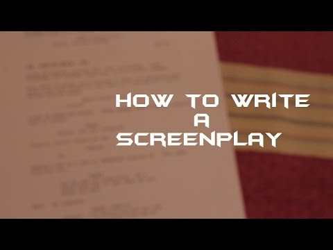 how to write screenplay in tamil pdf