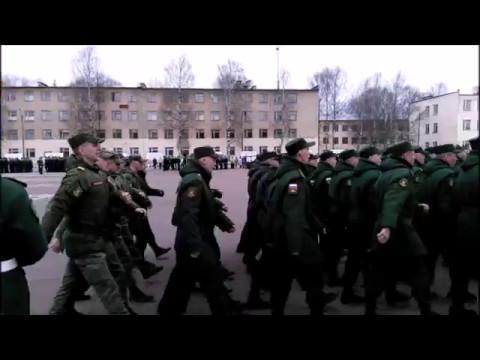ЗАТО Озёрный. Парад на плацу 9 мая 2017 г. Смотр строя и песни.