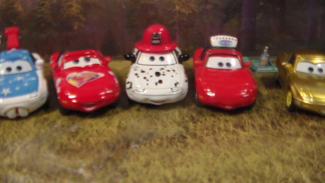 All Mia And Tia Variations! New 2015 Disney Pixar Cars