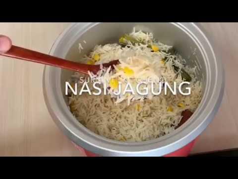 resepi-nasi-jagung