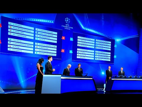 Champions League group stage draw in full
