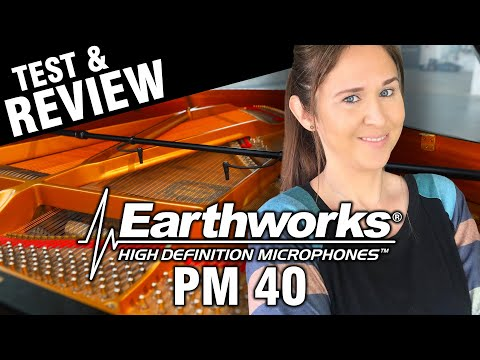 My New Favorite Thing! Earthworks PM40 Piano Mic Review And Test