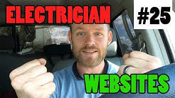 Ep 25 - Electrician Websites (Do You Need A Website As An Electrical Contractor)