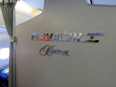 Flying Business With El Al Israeli Airlines