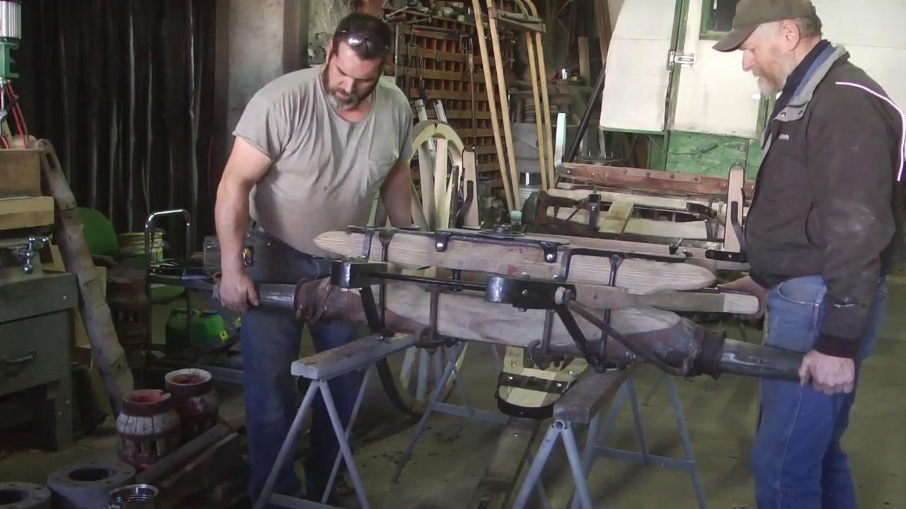 Studebaker Wagon Gear 2 Repairing The Rear Axle Engels Coach
