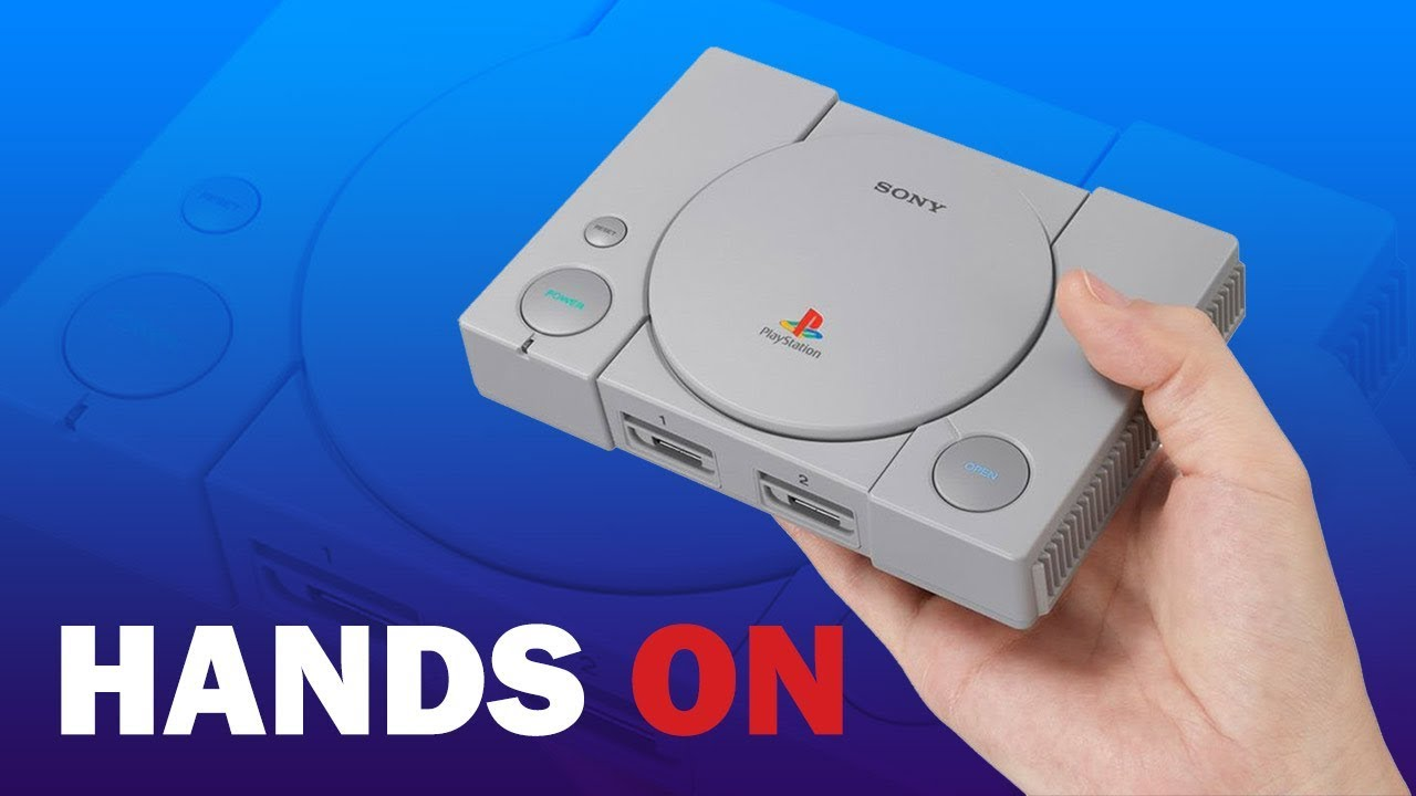 PlayStation Classic - First Hands-On Impressions