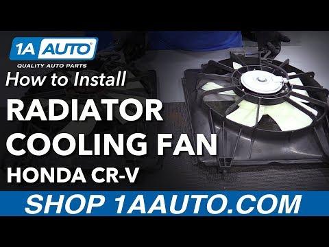 How to Install Radiator Cooling Fan 07-09 Honda CR-V