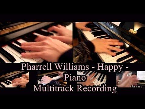 Pharrell Williams - Happy - Piano Instrumental Cover - YouTube