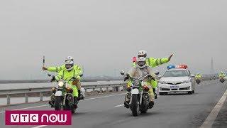 Đoàn lãnh đạo cấp cao Triều Tiên đi thăm Vịnh Hạ Long