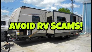 RV Scams!  Watch out if you're trying to get a used RV! Hurricane Michael