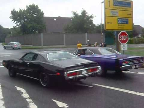 73 Dodge Charger Amp 69 Dodge Coronet Taking Off Youtube