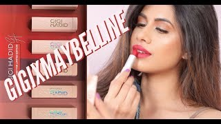 GigiXMaybelline Collection | Demo / Review | Malvika Sitlani