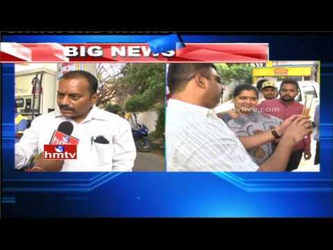 Legal Metrology Officers Raids on Petrol Bunks | Hyderabad | HMTV