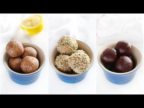 Energy Balls Recipe 3 Ways! | vegan, paleo snacks