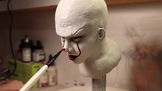 Sculpting Pennywise -Ty France