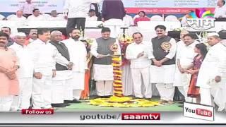 CM Prithviraj Chavan unveils Dr.Vithalrao Vikhe Patil