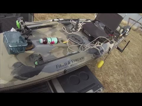 Modding Up The Field Stream 12 Kayak Youtube
