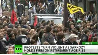 2 Years Big Deal? France paralyzed over retirement age rise