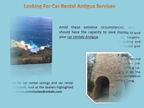 Looking For Car Rental Antigua Services