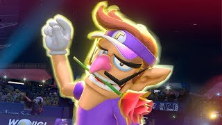 Mario Tennis Aces - All Special Shots (Demo)