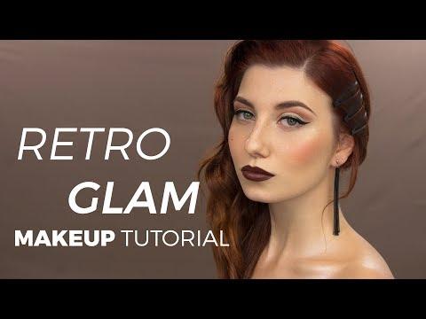 MAKE UP TUTORIAL RETRO GLAM - #NEVERLANDCANVAS - @REGINAINNEVERLAND thumbnail