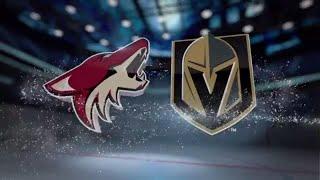 Аризона - Вегас прогноз. Прогнозы на хоккей НХЛ. Прогнозы на спорт