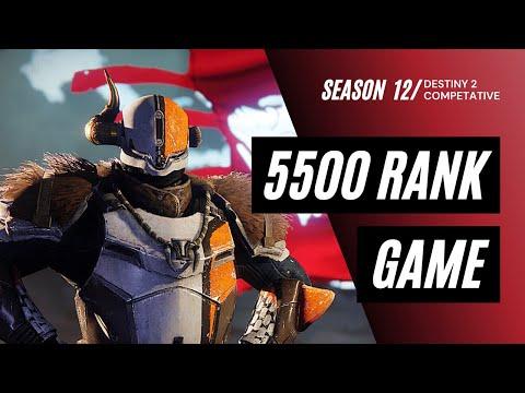 5500 RANK GAME - Season 12   Destiny 2 Beyond Light  