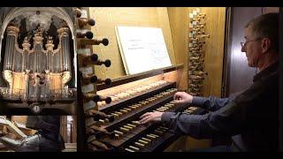 J.S. Bach Praeludium und fuge Es-dur BWV 552 Christophe Mantoux à l'orgue de St-Séverin, Paris