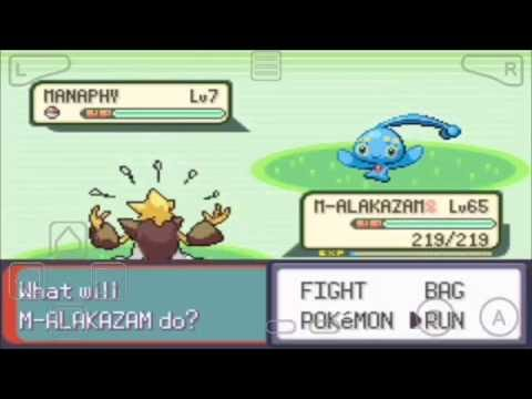 Catching Riolu in pokemon super emerald x and y edition