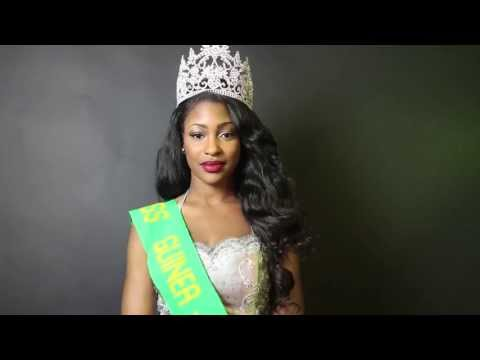 Greetings from Miss Guinea USA, Diessou Kante