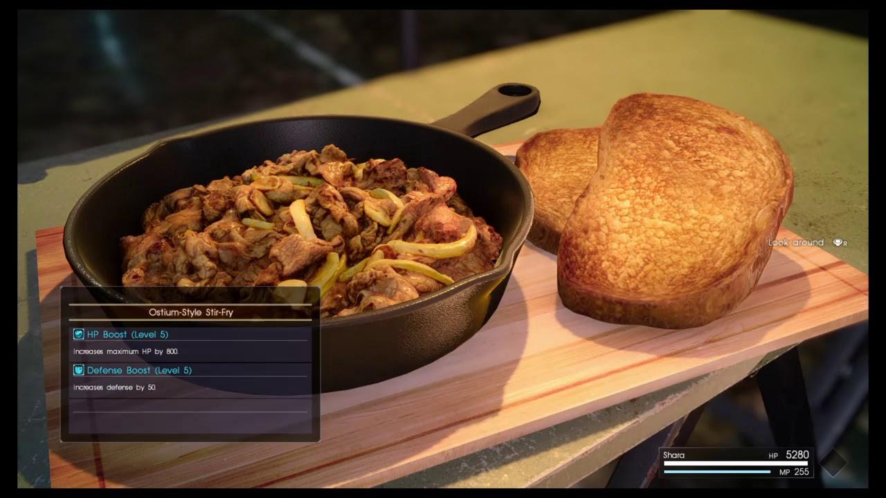 FINAL FANTASY XV Comrades: Libertus' Cooking