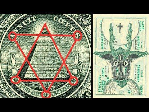 Монстры и цифра 13 — что означают загадочные символы на долларах (+видео)
