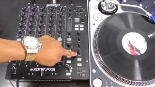Allen & Heath Xone:PX5 Mixer: Filters & Effects Tutorial/Demo Video
