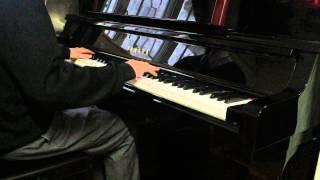 G.E.M. 鄧紫棋 - 單行的軌道 (鋼琴)