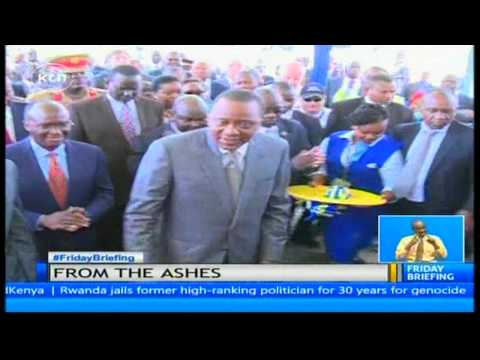 Kenya's to ease air travel by opening of a new passenger terminal at JKIA