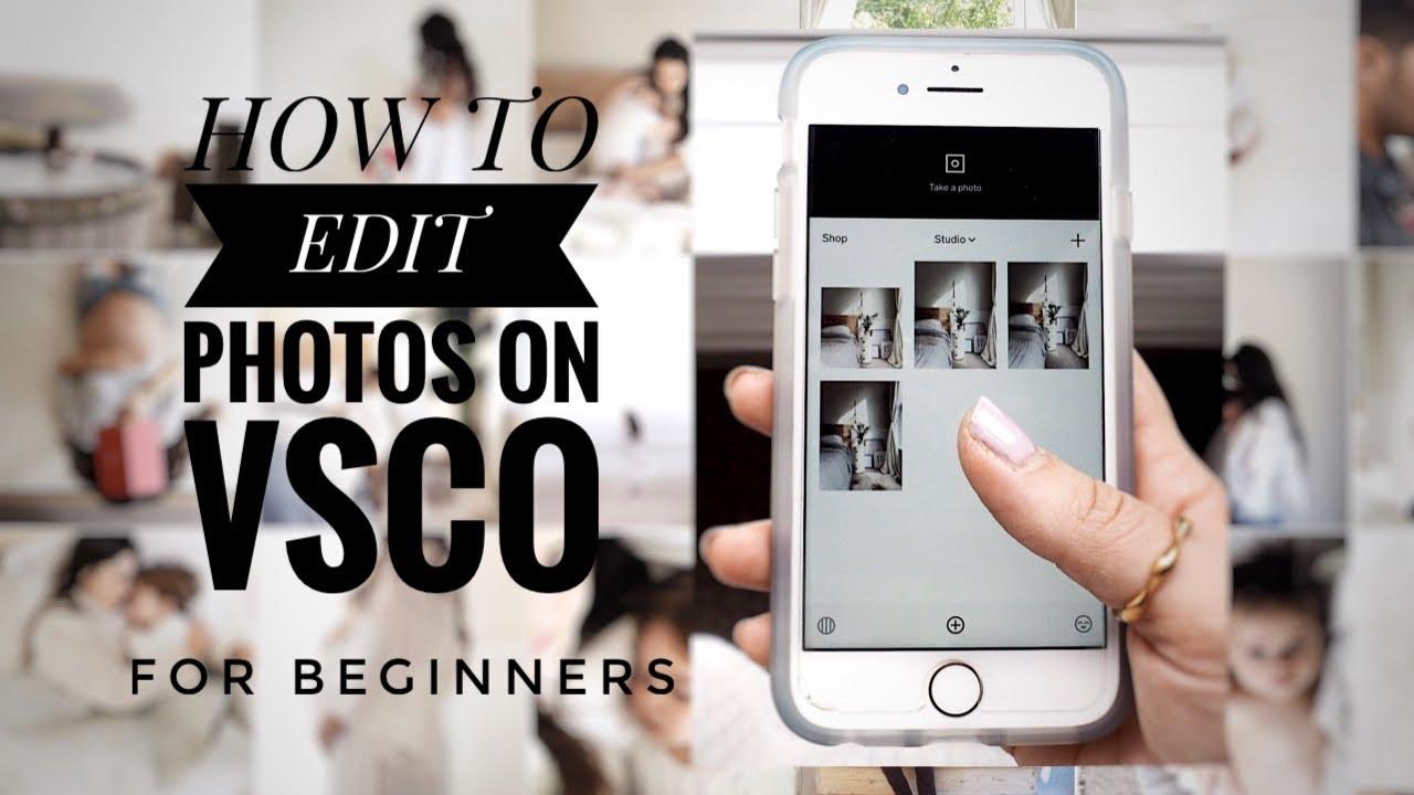 How to edit photos on VSCO for INSTAGRAM | VSCO for BEGINNERS | Sep 2017