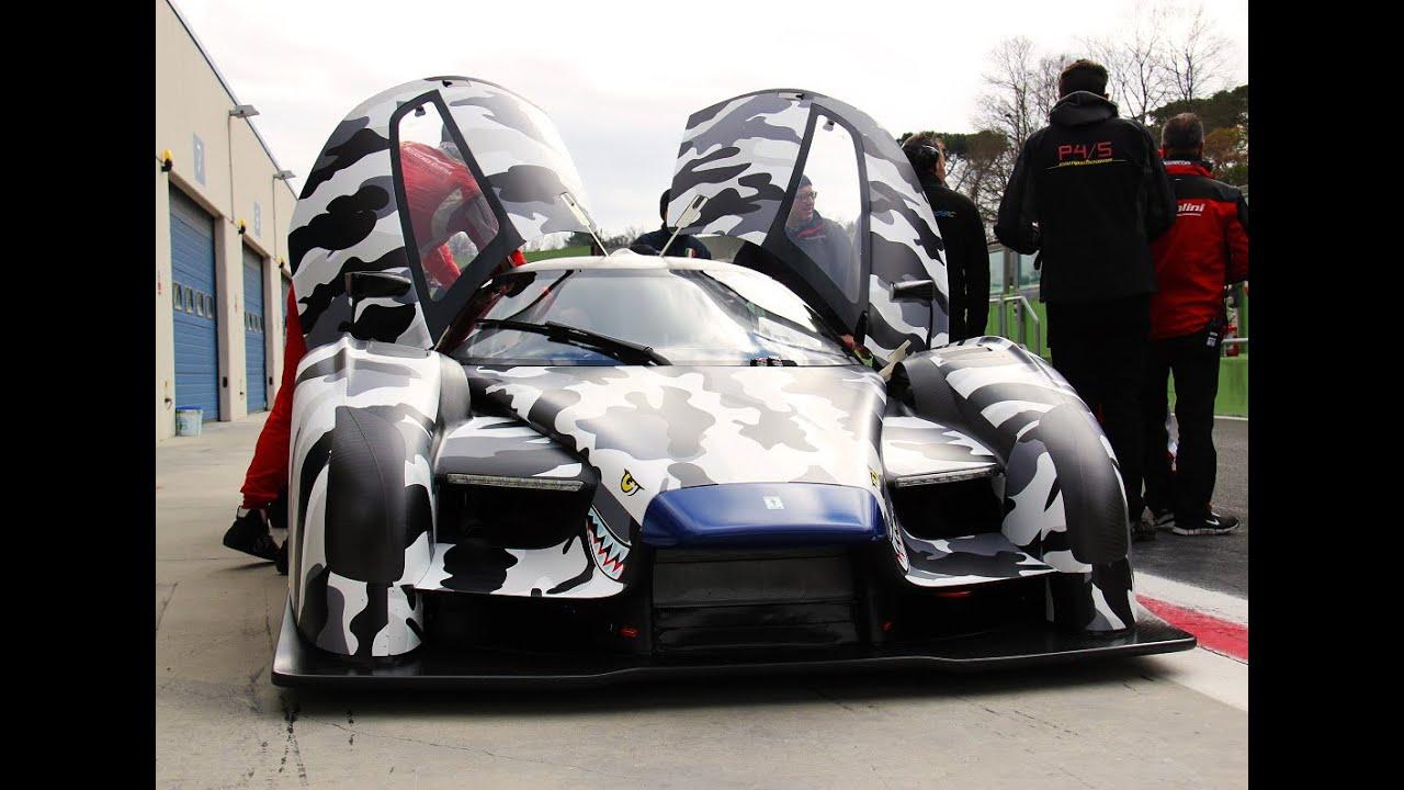 Scg 003 Glickenhaus Test Vallelunga Davide Cironi Drive Experience