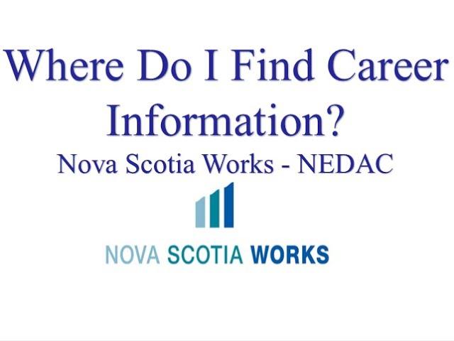 Where Do I Find Career Information?