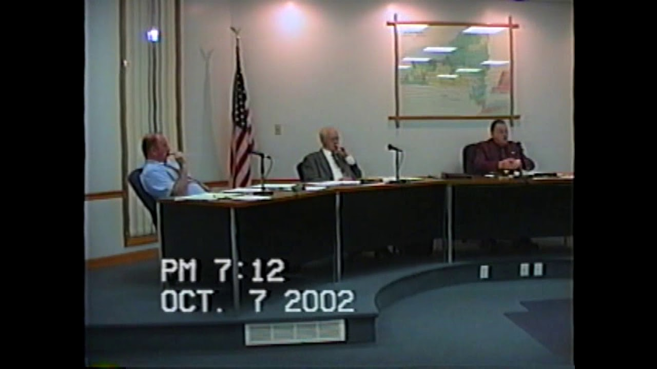 Rouses Point Village Board Meeting  10-7-02