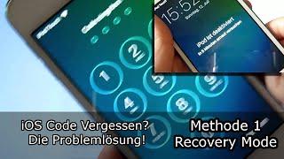 iOS Code Vergessen? Die Problemlösung! iOS 7 - 10.1 (2016)