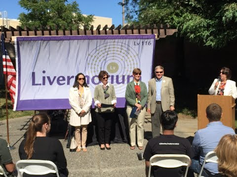 Livermorium Day 2017 and YIBI Erika Yang was awarded