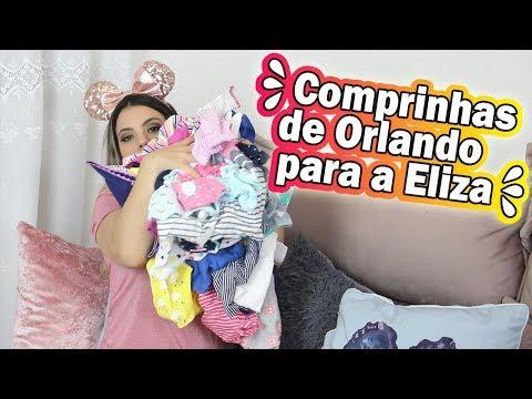 COMPRINHAS DE ORLANDO PARA MINHA BABY ELIZA | Kathy Castricini