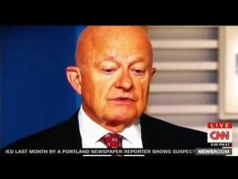Clapper on Russia Ties My Dashboard Warning Light was ON CNN Panel discussion