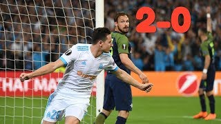 OM  Vs Salzbourg 2 - 0 Ligue Europa 26.04.2018