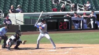 Matt Reynolds, New York Mets (2014 AFL BP + Game At-Bats)